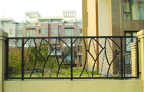 欧式铁艺围栏 - 铁艺护栏_佳木斯锌钢护栏_佳木斯铁艺
